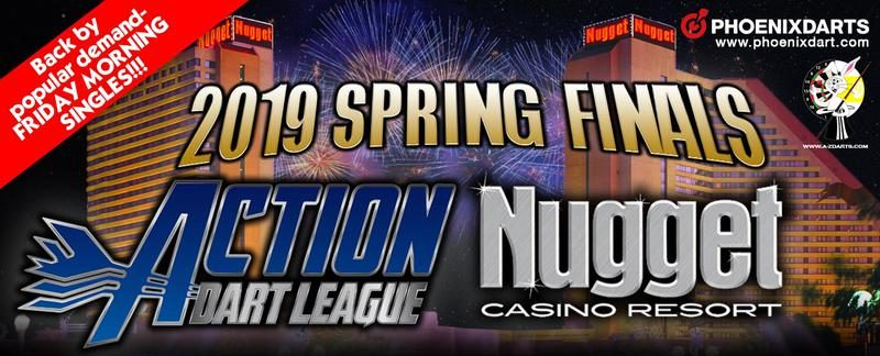 2019 Action Dart League Spring Finals at the nugget casino in sparks nevada
