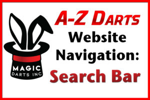 A-ZDarts website navigation episode on using the search bar