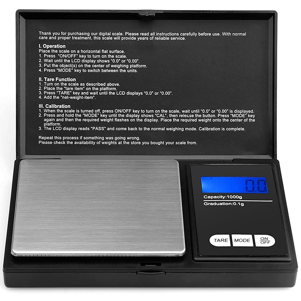 Xero X1 Series Professional Digital Pocket Scale