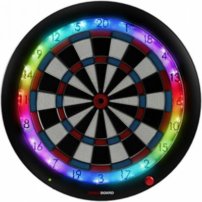 Gran Darts Gran Board 3 Bluetooth Electronic Dartboard - Blue