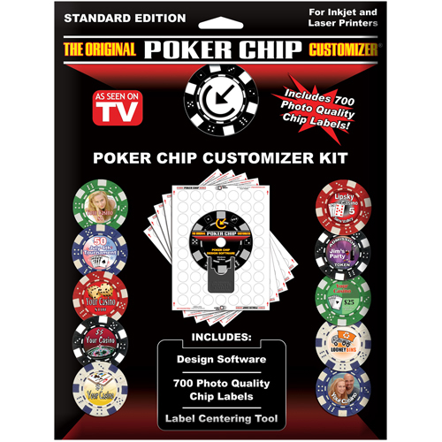 poker chips kit